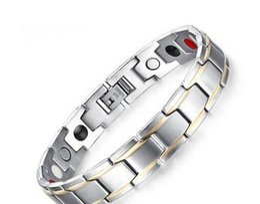 Hot sell Simple strap shape men bracelet Stainless steel jewelry