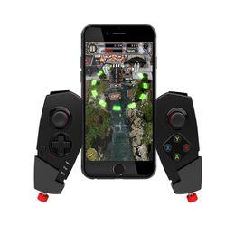 Tablet Wireless Controller Australia - IPEGA PG-9055 Adjustable Wireless Bluetooth Game Pad Controller Gamepad Bluetooth Joystick Multimedia for Cellphone Tablet PC