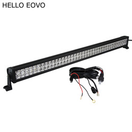 Chinese  HELLO EOVO 42 Inch 240W LED Light Bar + Wiring Kit for Off Road Indicators Work Driving Offroad Boat Car Truck 4x4 SUV ATV Combo manufacturers