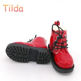 Accessories For Boots Shoes NZ - Tilda 7cm Length 1 3 BJD Doll Toy Shoes,Lovely Mini Shoes Simulation Leather Short Boots for Dolls High Quality Doll Accessories