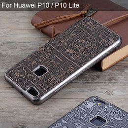 $enCountryForm.capitalKeyWord NZ - for Huawei p10 p10 lite case Maya Ancient Egypt Vintage Retro Style leather skin with Soft silicone cover cases for Huawei p10 lite