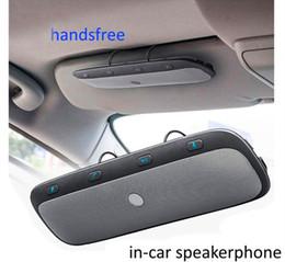 $enCountryForm.capitalKeyWord Australia - New TZ900 Sun visor Multipoint Wireless Bluetooth Handsfree Calling Car Kit Speakerphone Audio Music Speaker For Smartphones