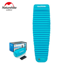 $enCountryForm.capitalKeyWord NZ - Naturehike 2018 New manually inflating sleeping pad thermolite cotton warm camping mat tent air bed for cold weather