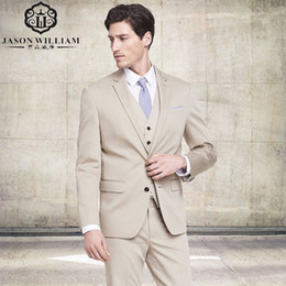 2018 clothing for wedding man LN064 Business Suits Men Suit Brand Men's Blazer Business Slim Clothing Suit Jacket and Pants for Wedding (Jacket+P