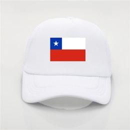 78aed24a913 Soccer Caps UK - Chile flag logo baseball cap patriotic hat sport soccer  cheerleader cap 9
