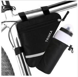 Cycling Handbag Bicycle Storage Pannier Bike Saddle Rack Rear Seat Bag Shoulder Frame Tube Handlebar Black #3s26 Low Price Bicycle Accessories