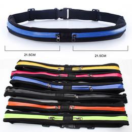 Dark Cycles NZ - Running Bag Travel Waist Pocket Jogging Sports Portable Waterproof Cycling Pack Bag Outdoor Phone anti-theft Pack Belt Sport Bags