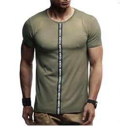 $enCountryForm.capitalKeyWord NZ - Cotton Cozy Sportswear Sport Men's T Shirts Men Fitness Running Shirt Round Neck Gym Briefs Slim Top Short Sleeve Flex Tops