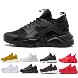 check out 4dd6c f984d nike air huarache vendita allingrosso Huarache 1 4 uomo Scarpe Sneakers  Ultra Run triple Bianco Nero rosso grigio Huaraches Scarpe Uomo Donna Scarpe  Casual ...