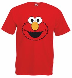 $enCountryForm.capitalKeyWord UK - ELMO Sesame street Men's funny cartoon 100% cotton crew neck T Shirt Cartoon t shirt men Unisex New Fashion tshirt