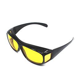 63d7292aa Óculos de Visão Noturna Óculos Óculos de Proteção Do Motorista HD Lentes  Amarelas Car Driving Eyewear Proteção UV Marca Esporte Polarizada