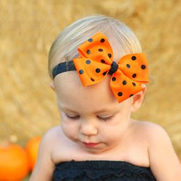 $enCountryForm.capitalKeyWord Australia - 2018 Europe and the United States selling Halloween Halloween ribbon bow ribbon headband children decorated headband jewelry hair band