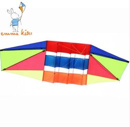 toy kites NZ - Outdoor Toys Large 3D Kite Flying Single Line Kite with Tail Radar Kite for Adult Children Sport Fun