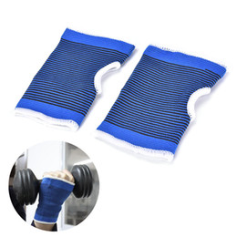 online shopping 1Pair Elastic Armguard Palm Wrist Hand Support Outdoor Sports Glove Mitten Brace Sleeve Bandage Gym Hands Wrap Pad Protector