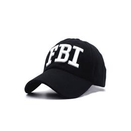 5238a8772ed 2018 High quality Wholesale Retail Men and women Hat   Cap FBI Fashion  Leisure embroidery CAPS Unisex Baseball Cap