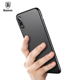 max accessories UK - Baseus Super Thin Wing Case For iPhone Xs Xs Max XR 2018 Hard PP Back Phone Accessories For iPhone Xs Max Cover