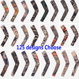 23fbd689e Arts Fake Fake Temporary Tattoo Arm Sunscreen Sleeves Body Arm Sleeve For  Unisex Protective Sleeve Design Tiger Crown Heart Skull HH7-1799