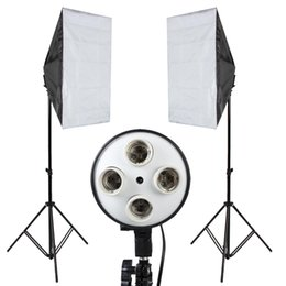 $enCountryForm.capitalKeyWord UK - wholesale Soft Box Photography lights Photo Studio Softbox Kit Photo Equipment Of Fill Light For Camera Photo Studio Diffuser