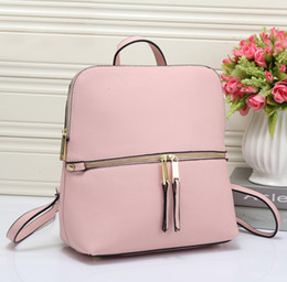 men star brand 2019 - 1pcs wholesale - New arrival 6 color Luxury Brand backpack bags for women travel bags school bag free shipping cheap men