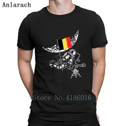 $enCountryForm.capitalKeyWord Canada - Astronaut Moon Belgium Flag Gift Idea Space Tshirts Hiphop Top T Shirt For Men Summer Leisure Printing New Fashion Original