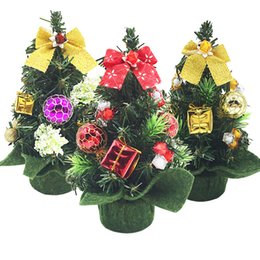$enCountryForm.capitalKeyWord UK - Christmas gift of 20cm mini Christmas tree ornaments decorated table decorated For Christmas tree Christma Supplies