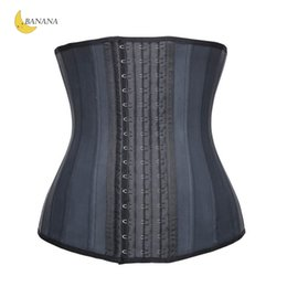 e474ef18dcf Good Quality Latex Black Bodysuit Women Waist Trainer Tummy Slimmer Shapewear  Training Corsets Cincher Body Shaper Bustier free Shipping