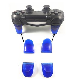 Ps4 r2 online shopping - hot sale R2 L2 Trigger Extenders for Playstation PS4 Pro Slim Controller Dual Triggers Attachments for Dualshock PS4