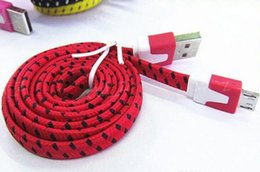Usb noodle wire online shopping - 10FT ft FT Noodle Flat Braid Charging Cord Sync Fabric TYPE C Micro Wire USB Data Cable Line Samsung S8 S7 HUAWEI
