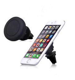 Wholesale Universal Air Vent Magnetic Car Phone Holder Mount for Samrt phone Tablet GPS for Iphone X Samsung S8