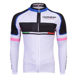 TOUR DE ITALY UHC team Cycling long Sleeves jersey Hot Sale cycling jersey  long sleeve c1721 a1f76105a