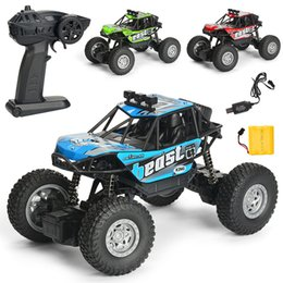 HigH electric sHock online shopping - WLtoys RC Cars WD KMH High Speed Off road Racing Cars Monster Truck Rock Crawler Electric Remote Control Off road Vehicle kids toys