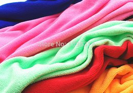 Beauty Towels NZ - Free shipping 20pcs 35cmx75CM Fast Drying Travel Beauty Gym Camping Sports Soft Microfiber Hair drying Thick Towel