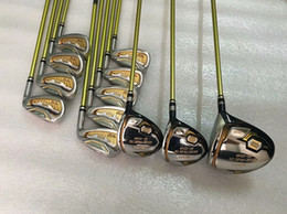 honma beres putter 2019 - 12PCS 3 Star Honma S-06 Full Set Honma Beres Golf Clubs Driver + Fairway Woods + Irons + Putter Graphite Shaft With Head