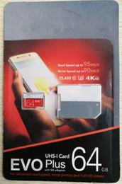 Sd Sdxc Sdhc online shopping - 100 Class EVO GB GB GB Micr SD Card MicroSD TF Memory Card C10 Flash SDHC SD Adapter SDXC White Orange Retail Package