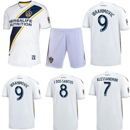 Discount galaxy soccer uniforms - 2018 19 LA Galaxy Soccer Sets Uniform Kits ZARDES GERRARD KEANE GIOVANI BECKHAM 9 Zlantan Ibrahimovic Maillot De Foot Me
