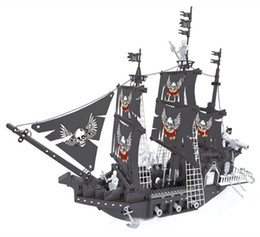 $enCountryForm.capitalKeyWord Canada - 27903 Caribbean black pearl 7 model building block pirate ship puzzle DIY assembly toy gift