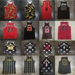 d231405d4426 23 LeBron James 1 Tracy McGrady 15 Vince Carter 23 MJ 3 Allen Iverson  Independence Day Men AU Basketball Jerseys