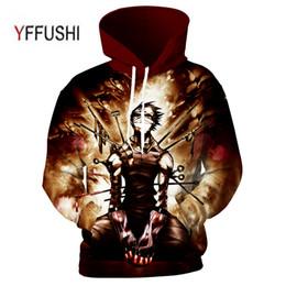 Wholesale funny anime hoodies for sale – custom YFFUSHI Drop shipping Anime D hoodies Funny Print Men Women Hoodies Street Wear Casual Pockets Sweatshirt Plus Size XL