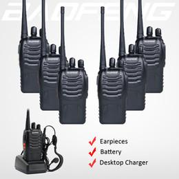 ham two way radio transceiver 2019 - 6x Baofeng 888S Walkie Talkie BF-888S Two Way Ham FM Radio Handheld HF 400-470Mhz 16CH Portable CB Transceiver + Free Ea