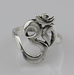$enCountryForm.capitalKeyWord NZ - Wholesale- 2016 New Hindoo Jewelry,OHM Hindu Buddhist AUM OM Ring Hinduism Yoga India Outdoor Sport Women Men Ring Religious Symbol Jewelry