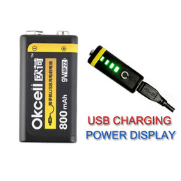 Batteries for helicopter online shopping - High Quality OKcell V mAh USB Rechargeable Lipo Battery for RC Helicopter Model Microphone For RC Helicopter Part