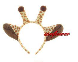 $enCountryForm.capitalKeyWord NZ - Cute Animal Ears Headband Giraffe Headband Headwear Party Hallowmas Costume Cosplay