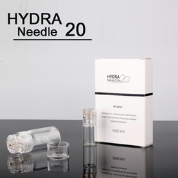 Microneedle Skin Meso Derma Roller NZ - Hydra Needle 20 pins Titanium Micro Needle Meso Derma Roller Skin Care 0.25 0.5 0.6 1.0mm Microneedle Therapy System