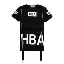 b084d24fd3b45d New Men s Hood By Air Short Sleeve Tee Shirts Man HBA Hip Hop Been Trill  Printed T-Shirts Men Camisetas Clothing