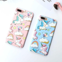 $enCountryForm.capitalKeyWord Australia - 3D Kawaii Cartoon Unicorn Phone Shell Protective Case for IPhone X XS MAX XR 6 6S 7 8 Plus 7plus 8plus Couple Cover Pink Phone Cute Cases