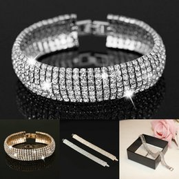Formal Earrings Australia - Luxury Designer Jewelry for Weddings Gold  Silver Full Rhinestones Jewelries Women Formal 3198b5a53a2f