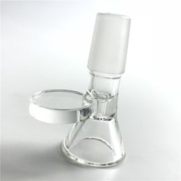 pyrex bowls NZ - New 14mm 18mm Bowl Thick Pyrex Glass Bong Bowls Clear Pipe for Oil Rig Tobacco Herb Smoking Water Pipes