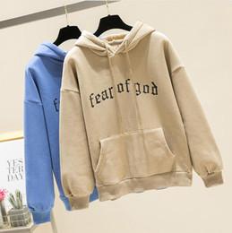 4398c36ad Fear Of God Fleece Hoodies women warm Pullover kanye west hoodie unisex  fashion brand hipster brand sweatshirt streetwear men 2019 D20