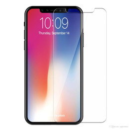 $enCountryForm.capitalKeyWord Australia - Tempered Glass Screen Protector Film Guard 9H Hardness Explosion Shatter Film For iPhone X 8 7 6 6S 5 5S Plus Samsung Galaxy S9 S8 Plus Note