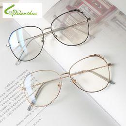 Cats Eye Eyeglasses NZ - Fashion Retro Bow-knot Glasses Frame Vintage Female Clear Lens Eyeglasses Cat Eye glasses Frames For Women Transparent Eyewear